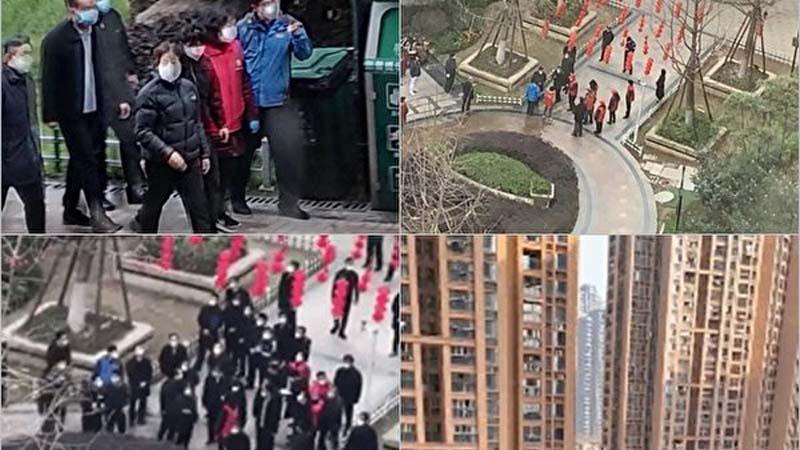 武汉市民:快饿死了 孙春兰到哪儿都会有人喊话