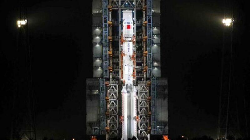 中共長征七號遙二火箭發射失敗(視頻)