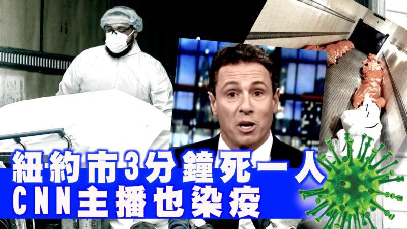 纽约州长库默之弟 CNN主播染疫【西岸观察】