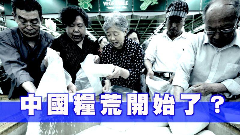 糧食危機來了?中共官媒闢謠 民眾更恐慌【西岸觀察】