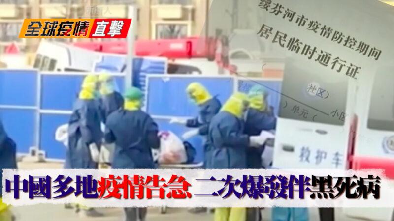 【全球疫情直擊】多地告急 中國二次爆發伴黑死病