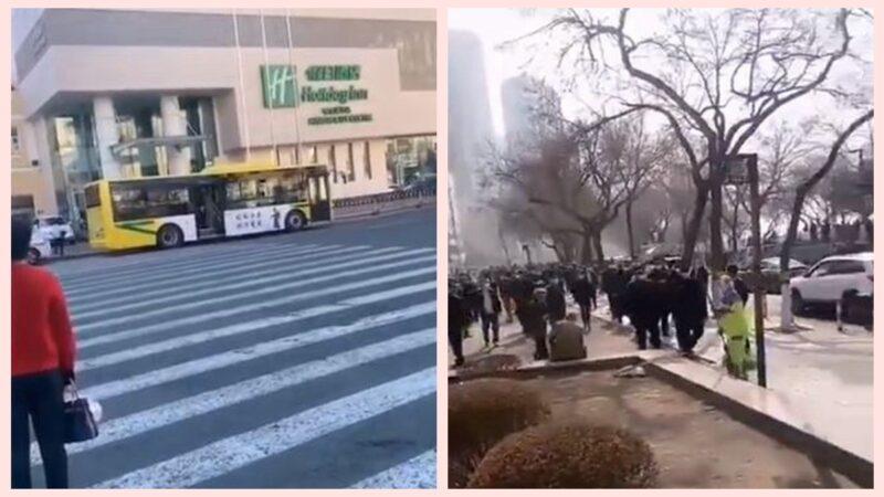 哈爾濱疫情失控 19日晚二次封城更嚴(視頻)