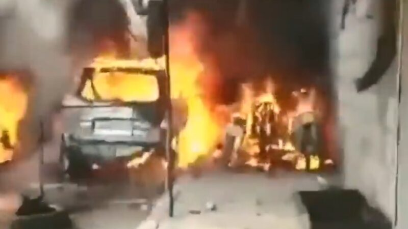 敘北車水馬龍道路 油罐車炸彈爆炸至少46死50人傷