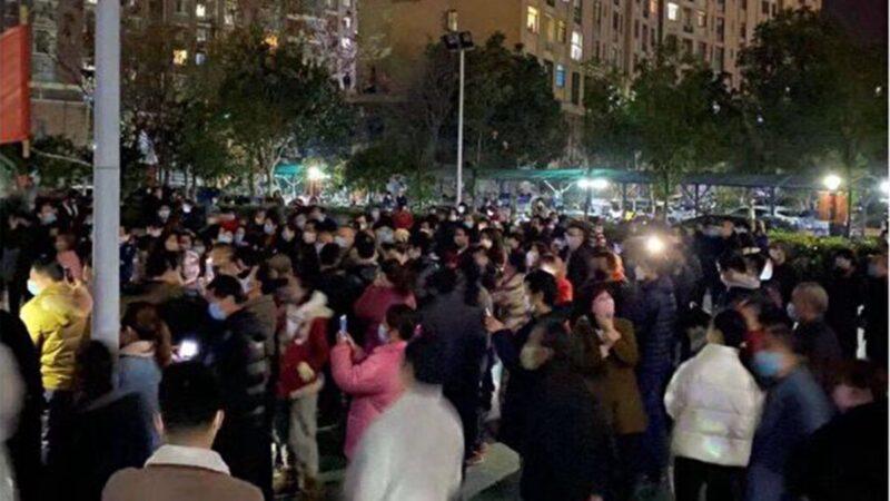 數百湖北民眾喊「下課」官方批捕一女子(視頻)