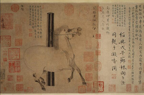 從畫中走下來求醫的馬