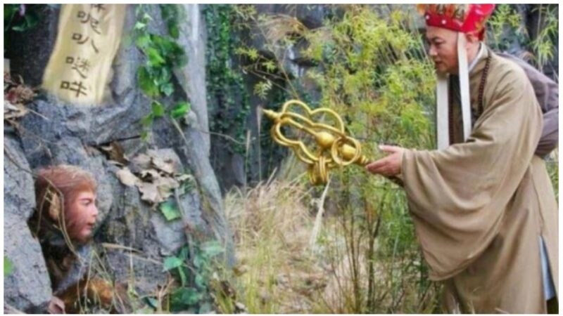 西遊記瞞了34年的秘密 壓著孫悟空的五行山不是道具(視頻)
