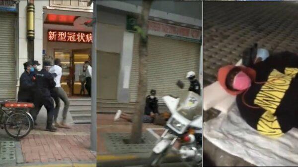 廣州疫情升級 大量非洲人流落街頭 遭圍捕(視頻)