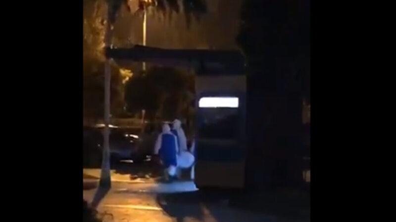武汉清零背后 半夜偷偷处理尸体曝光(视频)