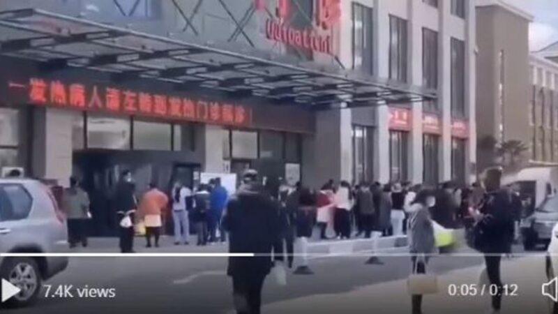 辽宁沈阳突爆疫情 医院瘫痪需检测3千人(视频)