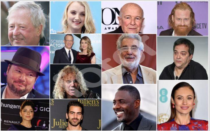 84位明星與時尚名流染中共病毒 32人亡(持續更新)