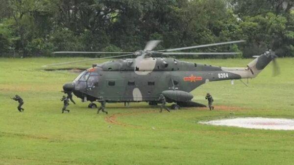 駐港部隊演習藏黑幕 軍機墜毀4人死