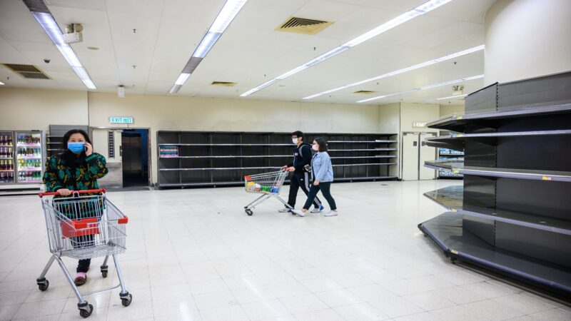 無視官方闢謠 中國多地仍瘋搶糧油囤米麵