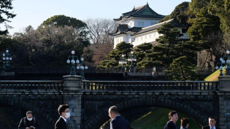 京都调到东京 日王宫护卫官首例确诊中共肺炎