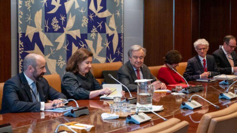 联合国秘书长:疫情过后必将全面调查