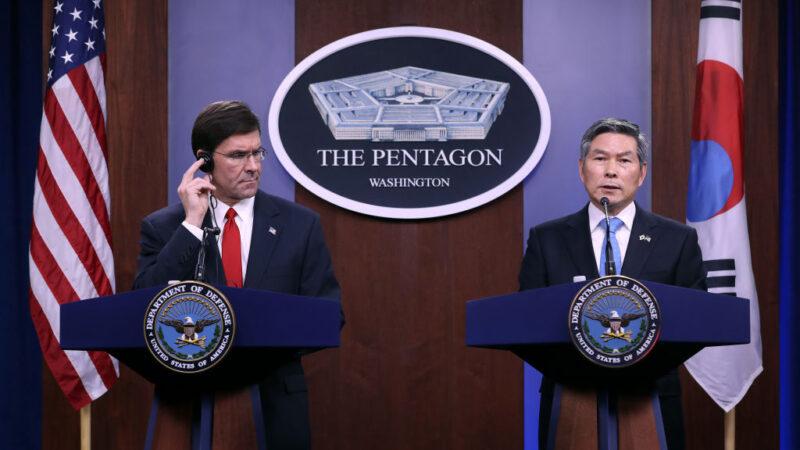 美韩防卫费谈不拢 近半数韩籍雇员休无薪假