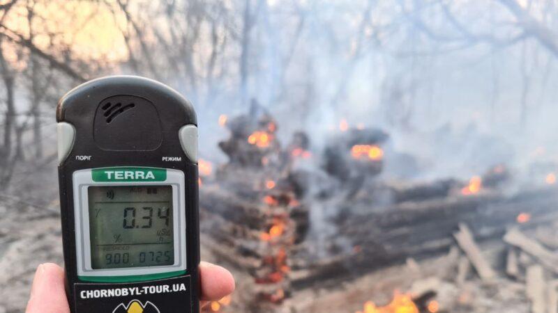 車諾比核事故禁區山火猛烈 輻射超標16倍