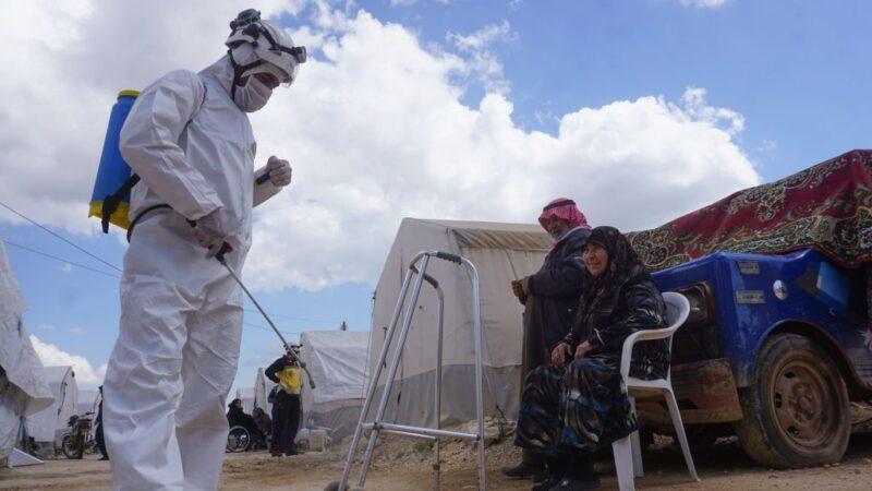 饱受内战摧残 叙利亚西北部300万人一台仪器验肺炎