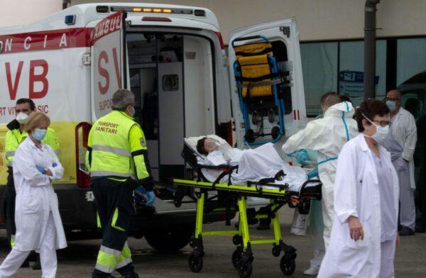 西班牙新增死亡病例再跌 確診突破20萬人