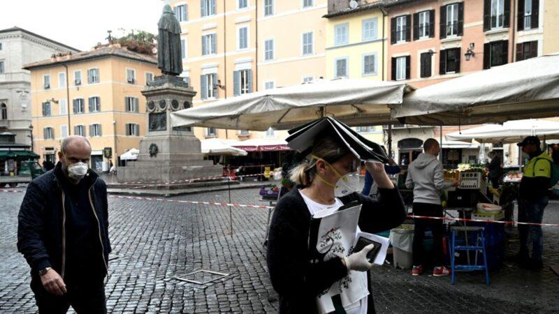 意大利50万人联署追责中共 索赔超千亿美元