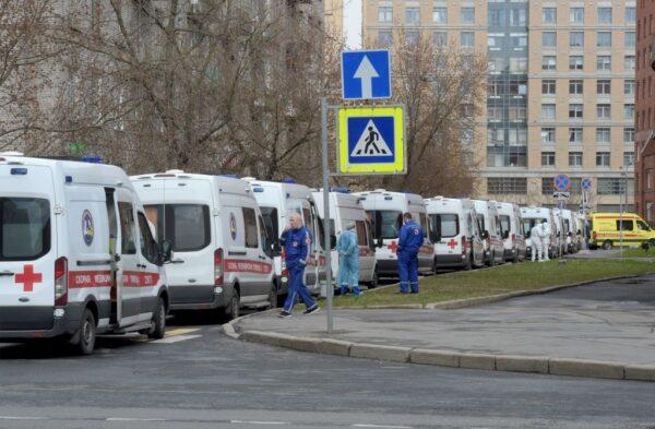 中共肺炎 俄羅斯逾8萬7000例 企業界籲鬆綁管制令