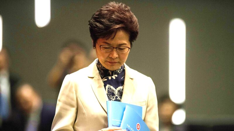 民研调查:林郑反对率近7成 半数民众打零分