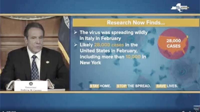 纽约州长承认病毒来自欧洲?党媒断章取义甩锅