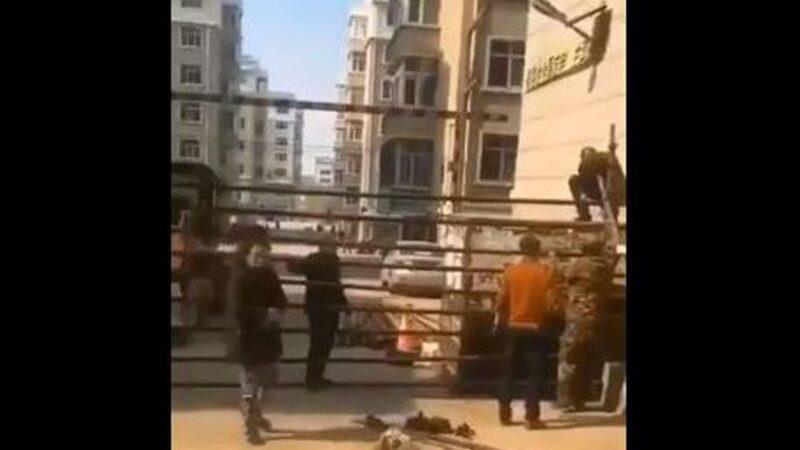哈尔滨封闭小区医院挤爆 民众忧封城