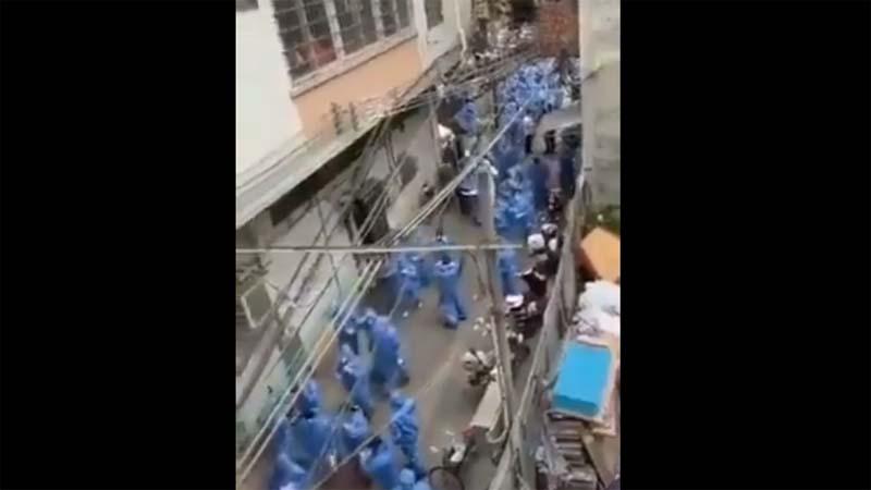"""广州排查结果""""异常"""" 网络曝出""""大场面"""""""