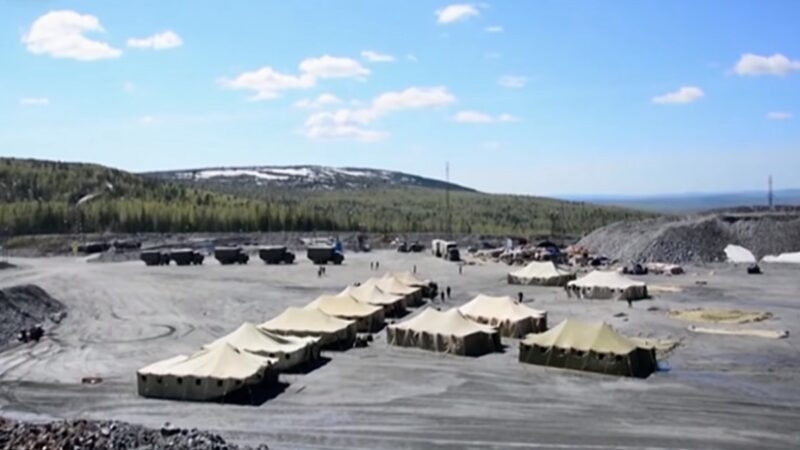 俄罗斯金矿区爆千人染疫 军方设容纳2000人隔离营