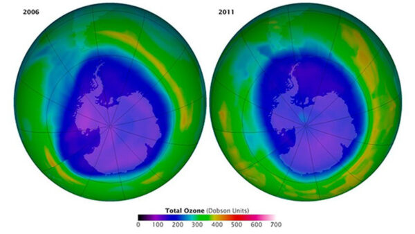 前所未有!北極3月出現臭氧空洞4月自行閉合