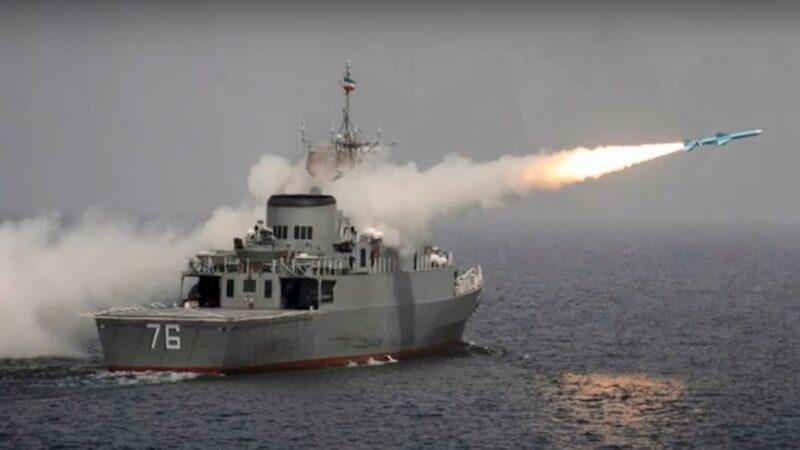 """伊朗海军""""误击""""自家军舰 至少一死数十人失踪"""