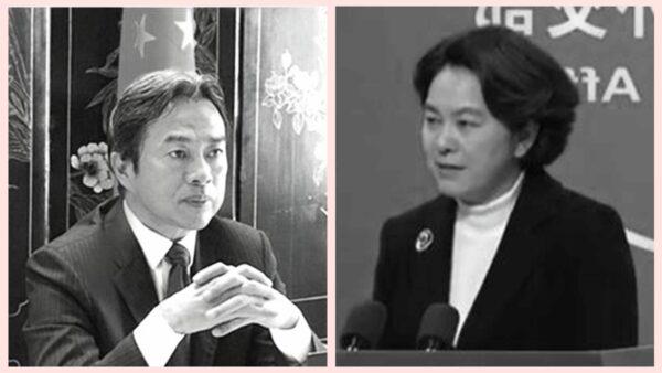 華春瑩連打三個錯字 送給猝死的中共大使