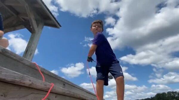 美6歲童「磁鐵釣魚」 釣到失竊8年珠寶箱