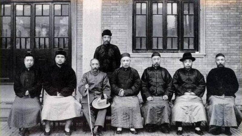 大总统徐世昌测一字 奇人料定战争结局(组图)