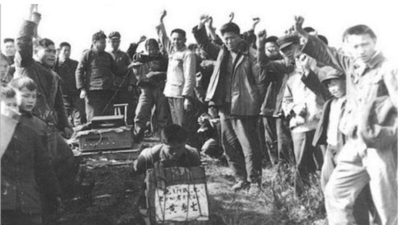 灭绝人性!中了邪的红卫兵逼迫子女打死父母(图)