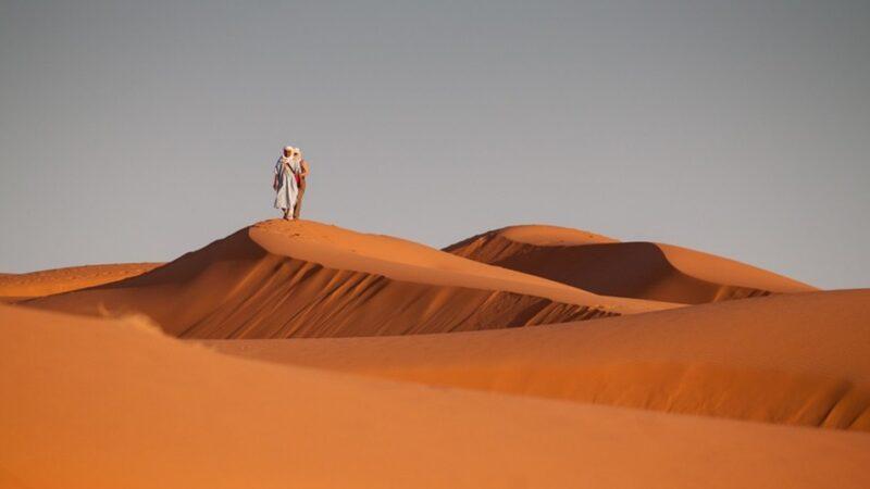 沙漠驚現200年沉船 莫非真存在時空之門?(組圖/視頻)