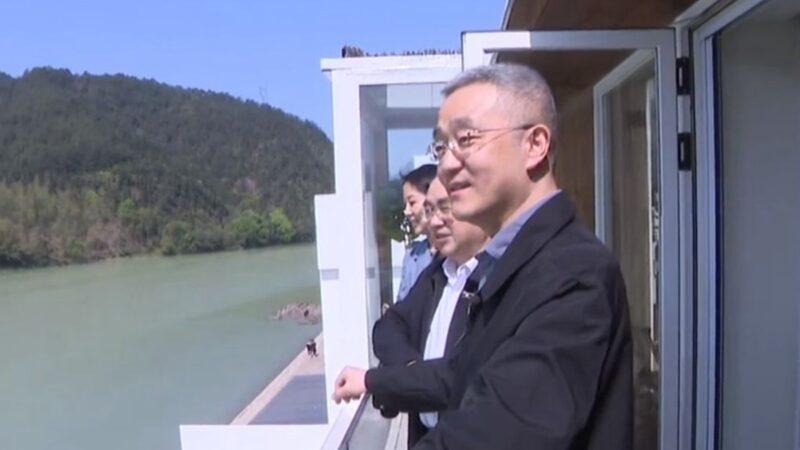 胡锦涛独子罕见拍片 亲邀游客游丽水