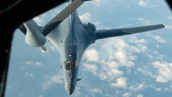 南海升溫 美軍B-1B超音速轟炸機現蹤
