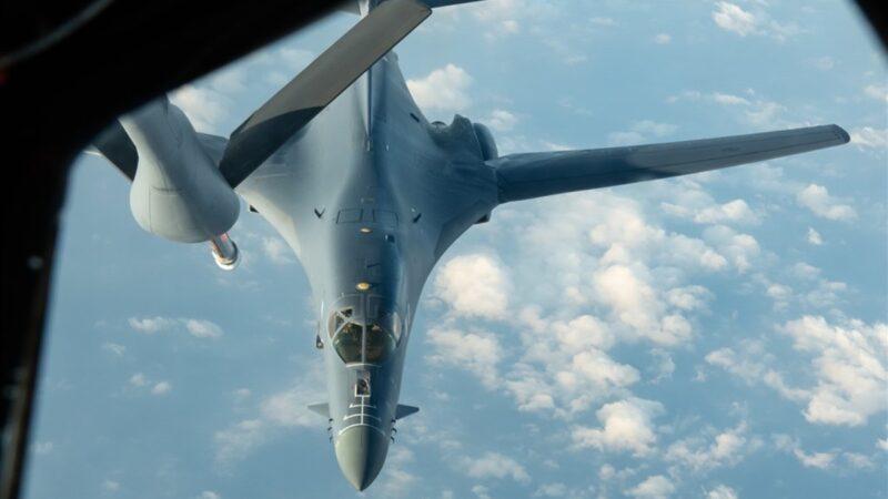 南海升温 美军B-1B超音速轰炸机现踪