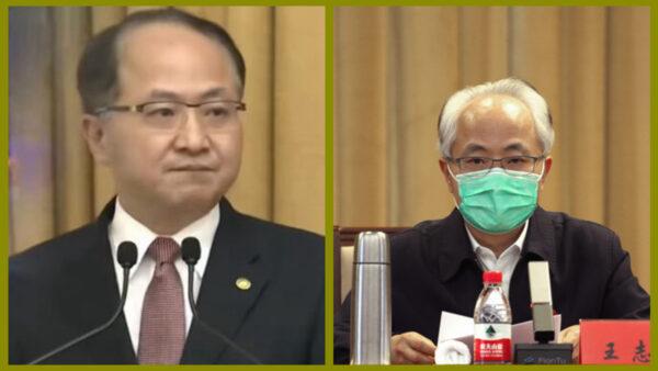 王志民露面形象大變 遭免職4個月後滿頭白髮