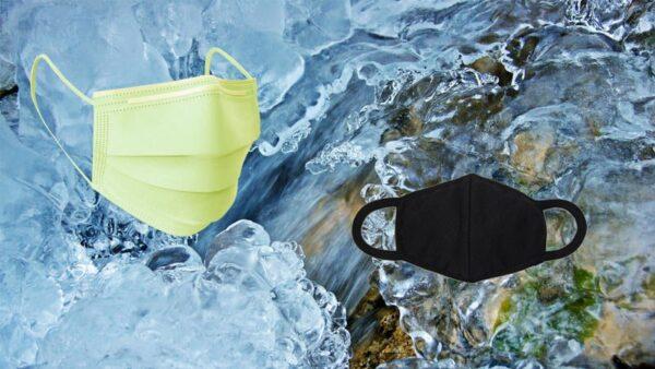 太有才了 高溫天氣 「冰鎮口罩」帶來絲絲涼意