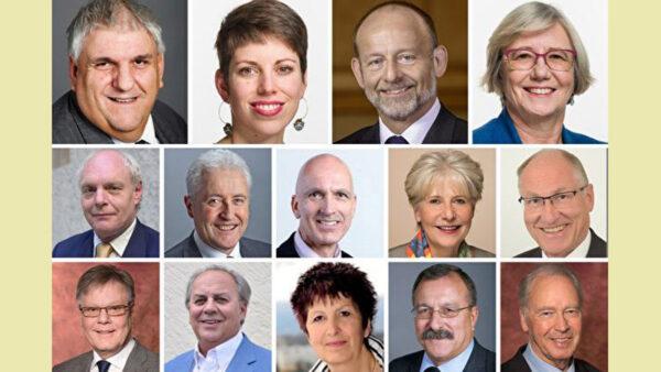 世界法輪大法日 瑞士政要向法輪功致敬