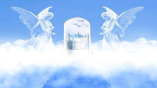 """神奇!网友照片拍到""""天国的阶梯"""""""