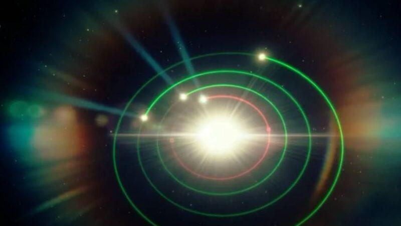 天文学家发现了另一个太阳系?