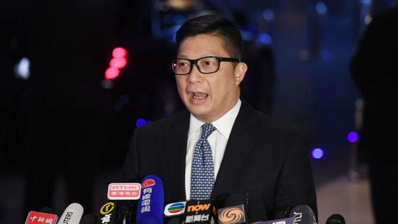 鄧炳強未否認黨員身份 知情人士:內部都知道