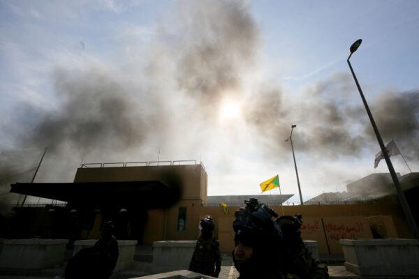 火箭險擊巴格達綠區 美國大使館警報器狂響