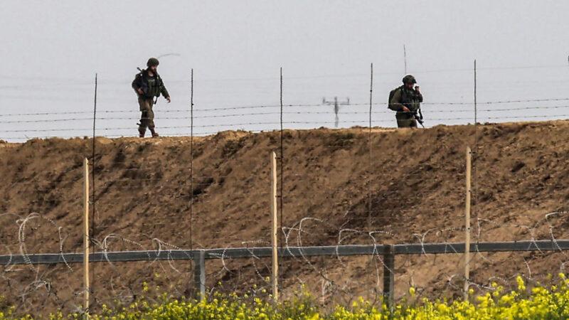 加沙好战分子射火箭挑衅 以色列战车回击