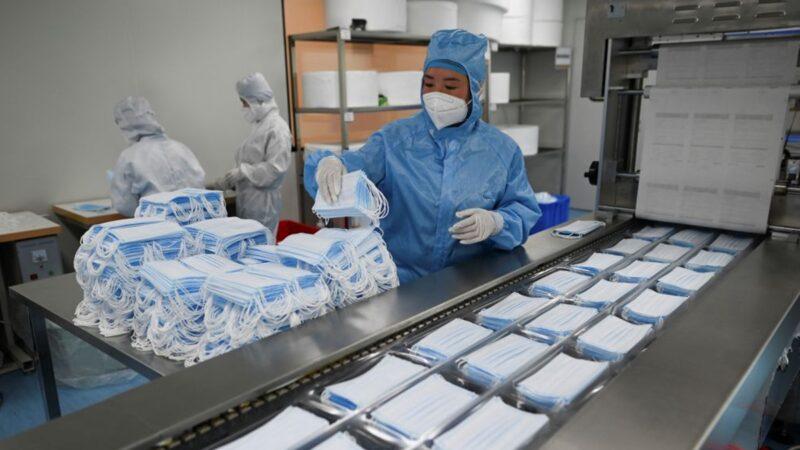 中国口罩质量太差 欧盟叫停1000万片