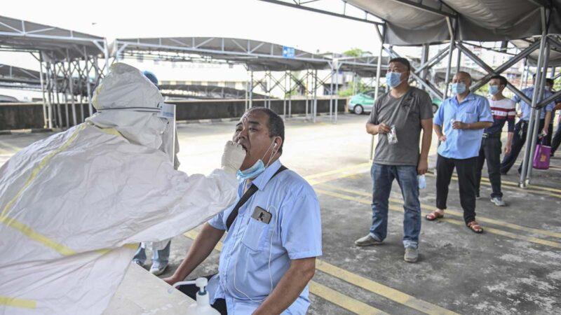 """广州染疫病例急增 出现""""跨市和跨省""""传染"""
