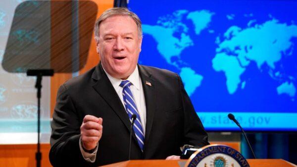 【重播】美国国务卿蓬佩奥对媒体讲话(中文同声翻译)